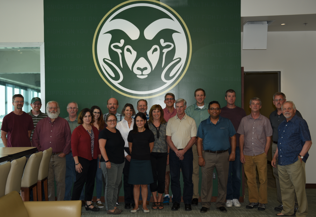 Photo of Faculty at Retreat 2017